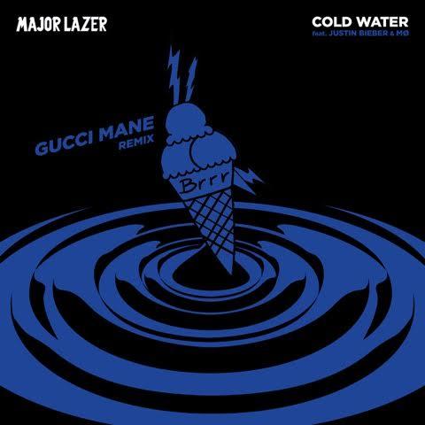 "Major Lazer – ""Cold Water (Remix)"" ft. Gucci Mane, Justin Bieber &MØ"